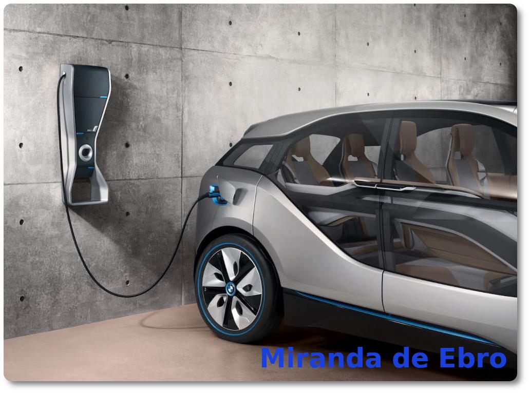 imagen coches electricos miranda de ebro