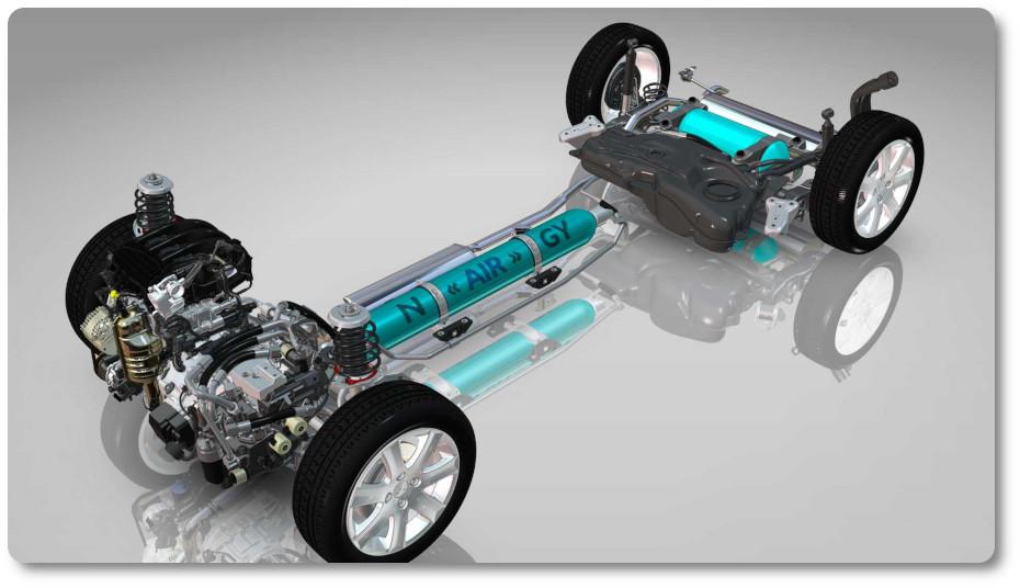 imagen coche hibrido suave