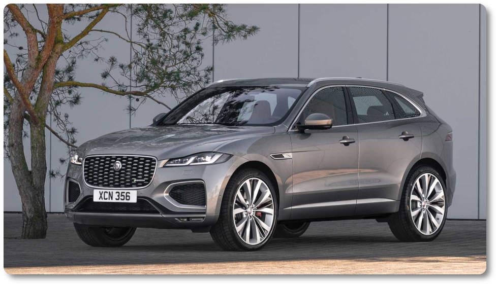imagen jaguar F-Pace 2021 exterior