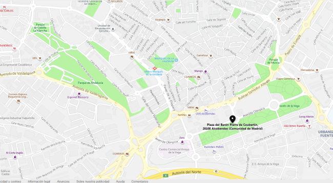 imagen mapa alcobendas