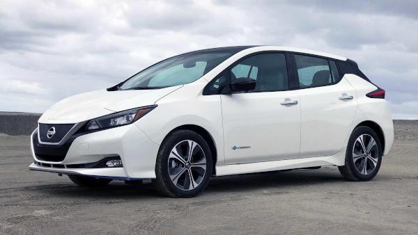 mejor coche eléctrico nisan leaf 2019