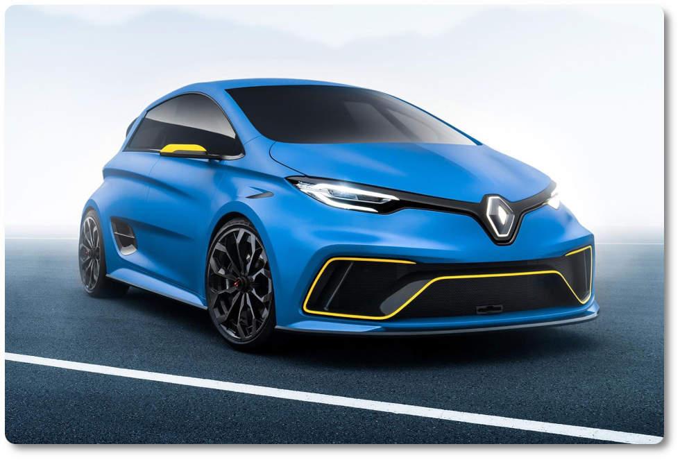 imagen renault zoe rs concept car eléctrico